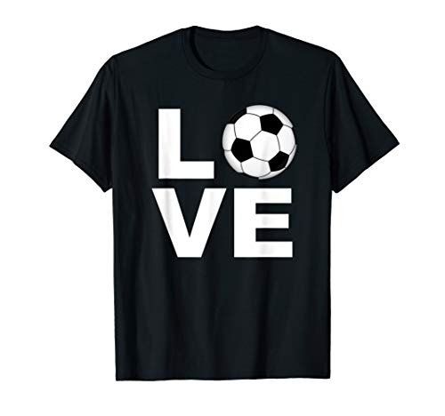 Football Gifts for Player Coach & Fan - Love Football T-Shirt