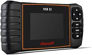 iCarsoft MB II Diaganosegerät OBD2 Benz Diagnose Fehler lesen und löschen Öl Service Rückstellung SBC Rückstellung DPF Reset