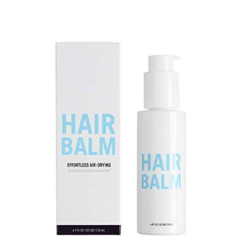 Hairstory Leave In Conditioning Balm for Curly Hair & Frizziness, Manage Dryness & Detangle Knots, All Day Moisturizing Cream, Protect Against Breakage, Natural Ingredients, Sulfate Free, 4oz Bottle