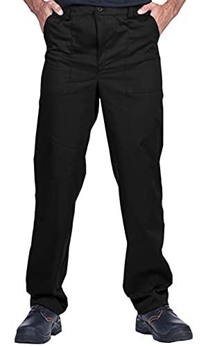 Mazalat Pantalones de Trabajo para Hombres, Pantalones de Seguridad, Pantalones de Trabajo...