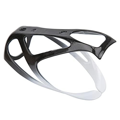 Portabotellas, portabotellas Integrado para Bicicleta de Carretera para Bicicleta de montaña(Black and White)