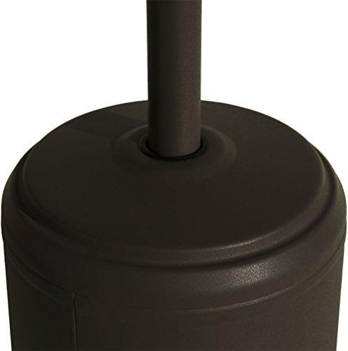 Beach & Pool Terrassenheizer CLASSICO schwarz, 14kW, Heizpilz, Premium Qualität Terrassen-Heizstrahler - 8