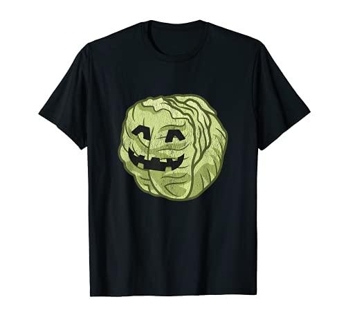 Disfraz de Halloween de lechuga perezoso. lindo y fcil de dibujos animados Camiseta