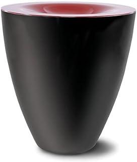 Basage Crachoir /à Vin en Plastique Noir Taille Standard avec Seau /à Champagne en Entonnoir Noir
