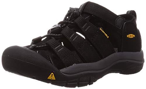 Keen Unisex Kinder 1022824_31 Outdoor Sandals, Black, 47 EU