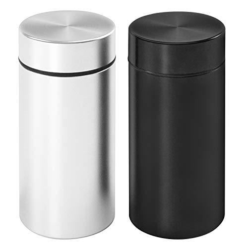 Aluminum Storage Jar Portable Airtight Smell Proof...