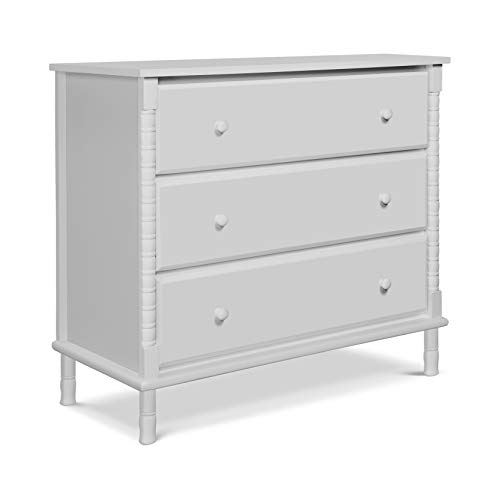 Review Of Davinci Jenny Lind Spindle 3-Drawer Dresser in Fog Grey