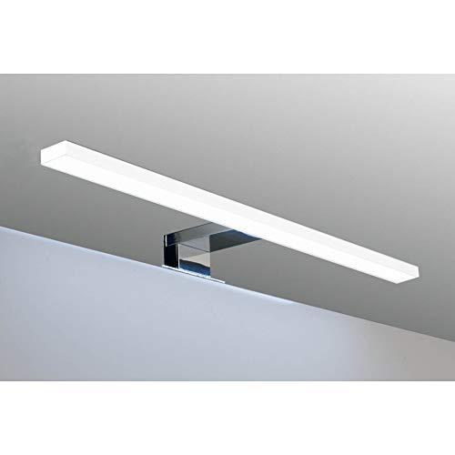 LED Badleuchte Badlampe Spiegellampe Spiegelleuchte Schranklampe Aufbauleuchte, Farbe:warmweiss, Länge:450mm