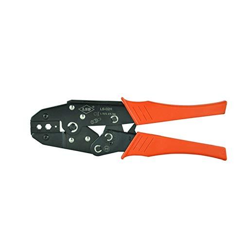 自動ワイヤーストリッパー高温抵抗力 同軸ケーブル用 圧着ペンチ ハンドツール BNC 光ファイバー RG58 RG59 RG62 プライヤー 六角圧着工具