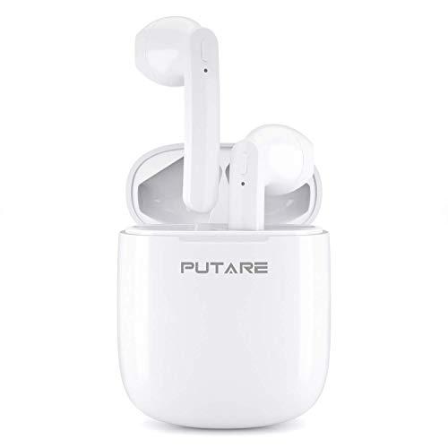 PUTARE Wireless Earphones,Wireless Headphones Bluetooth 5.0 Hi-Fi Stereo...