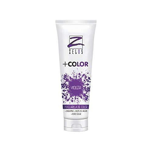 Mascarilla de Color para el Pelo - Violeta - 200 ml -...