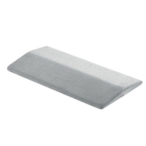 rosenice Lendenkissen Schlafen auf dem Bett Memory Schaum Lendenwirbelsäule Stützkissen (Grau)