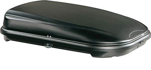 Unbekannt Junior Dachbox für Auto Econbox Schwarz Carbon 420 145 x 94 x 42 cm 100% Made in Italy - 420 Liter