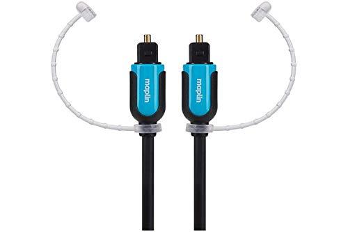 Maplin TOSlink Mini Plug to TOSlink Mini Plug Digitale Optische Glasvezel Kabel 10m
