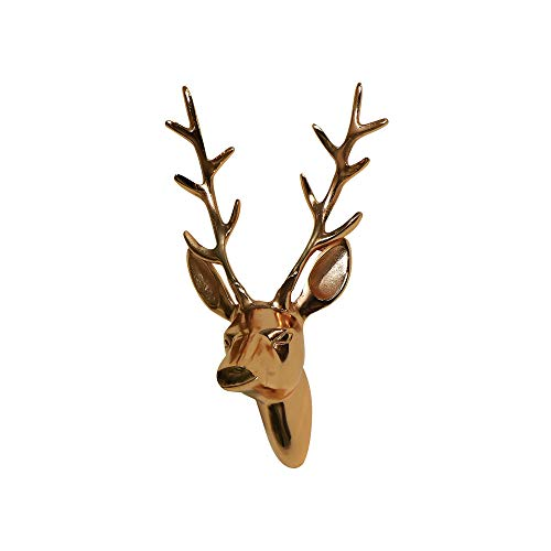 Melody Maison Copper Wall Mounted Stag Head