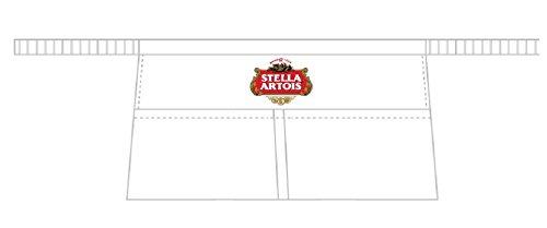 Grembiule Barman Birra Stella Artois 2 tasche