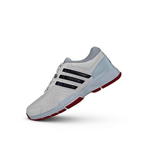 adidas Damen Barricade Court 2 W Tennisschuhe, Blanco (Ftwbla / Maruni / Azuhie), 38 2/3 EU