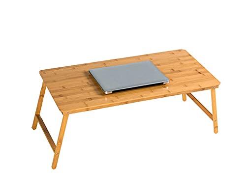 Escritorio de computadora Perezoso, Mesa Plegable, Escritorio de Cama portátil, Escritorio de Sala de Estudio, para portátiles, mesas de Dormitorio, sofá para Acampar, Trabajo, Lectura