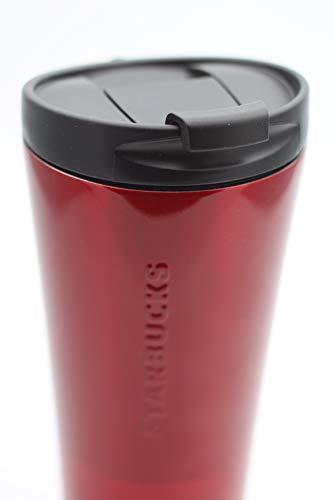 Starbucks Tumbler Thermobecher to go Edelstahl Phinney rot mit Schriftzug 16oz NEU