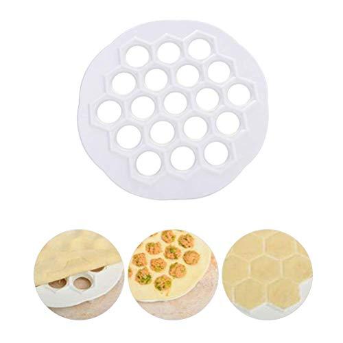 Bollen Matrijs 19 Holes Plastic Deeg Druk Ravioli Bollen Deegvorm Keuken Artefact