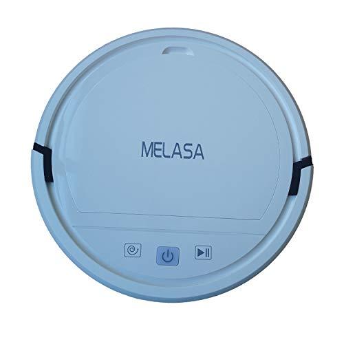 MELASA Vacuum Cleaners Robotic Machines, Robotic Vacuum Cleaner with Self-Charging, 360° Smart Sensor Protectio, Multiple Cleaning Modes Vacuum Best for Pet Hairs, Hard Floor & Medium Carpet