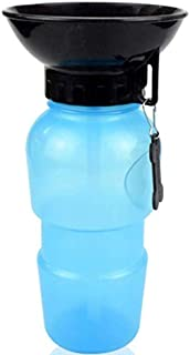 530ml Dog Drinking Water Bottle Pet Puppy Cat Sport Portable Travel Outdoor Feed Bowl Drinking Water Mug Cup Dispenser