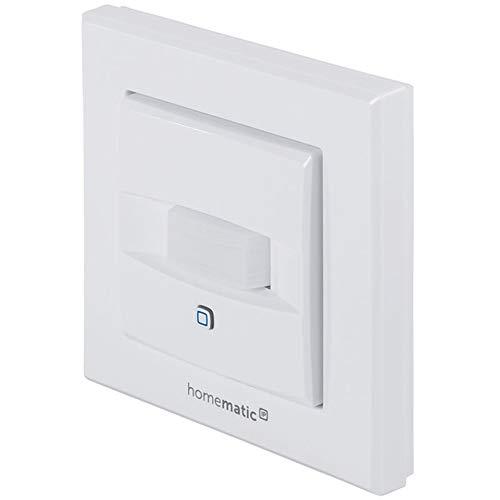 Homematic IP Wired Smart Home Bewegungsmelder und Wandtaster für 55er Rahmen HmIPW-SMI55