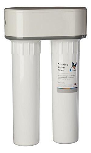Doulton W9380020 Filtro Doble Purificador de Agua de Plástico, Bajo Encimera y...