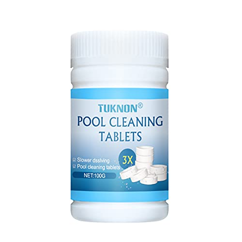 Pool Cleaning Tablets, Chlorine Tablets, Chlorine Tablets for Hot Tubs, Chlorine Tablets for Swimming Pool, Spa Chlorine Tablets, Multifunction Chlorine Tablets for Swimming Pool, Hot Tubs & Spa