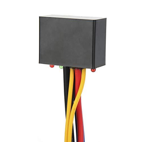 Relé de control de interruptor de luz antiniebla, relé de interruptor de luz antiniebla de motocicleta universal para motocicleta