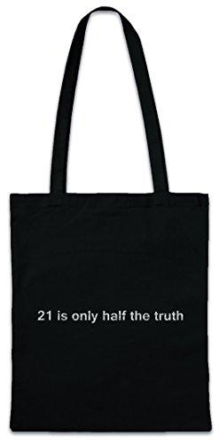 Urban Backwoods 21 Is Only Half The Truth Boodschappentas Schoudertas Shopping Bag