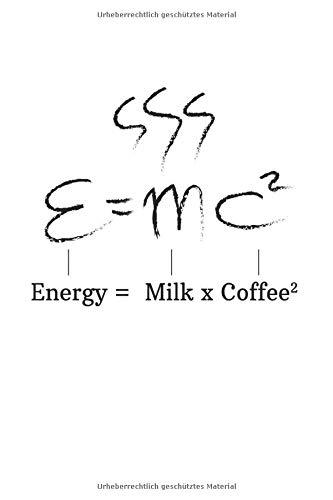 Diabetes Tagebuch: Kaffee Koffein Einstein E=Mc² Motivation Geschenke Typ 1 & Typ 2, 120 Seiten, 59 Wochen, 6X9 (Ca. A5), Blutzuckertagebuch, Hypertonietagebuch