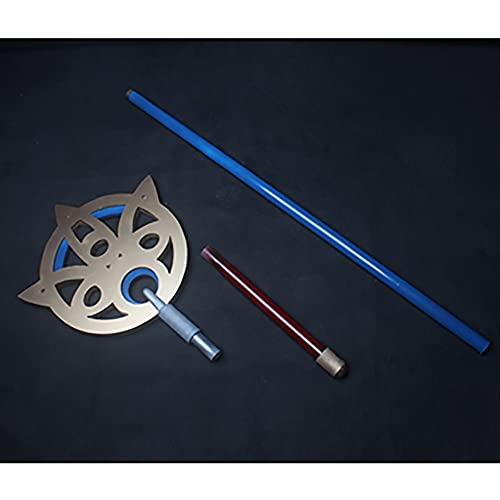 Accesorios de cosplay para Final Fantasy Ⅹ, YUNA Cosplay PVC Staff/Magic wand Model, Collectibles y regalos para los amantes de los juegos de anime (180cm)