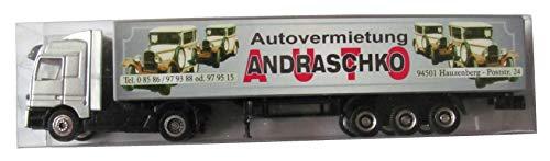 Autovermietung Andraschko Nr. - Hauzenberg - MB Actros - Sattelzug