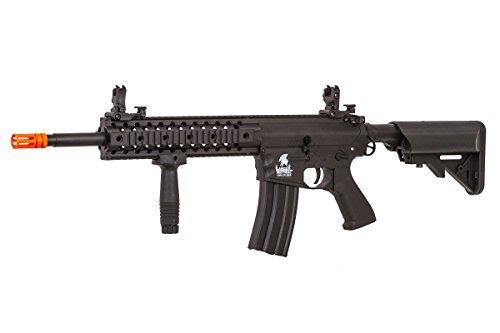 Lancer Tactical LT-12B-G2 Gen 2 RIS M4 Carbine AEG Airsoft Rifle (Black)