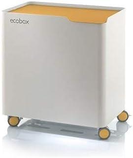 2 en 1 para el hogar Cohosy Papelera de reciclaje cocina oficina azul tipo empuje sala de estar