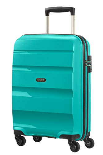 American Tourister - Bon Air - Spinner Equipaje de mano 55 cm, 32 L, Azul (Deep Turquoise)