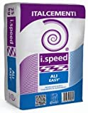 i.speed ALI EASY Premiscelato rapido, CEMENTO RAPIDO SACCO 25 KG, GRIGIO