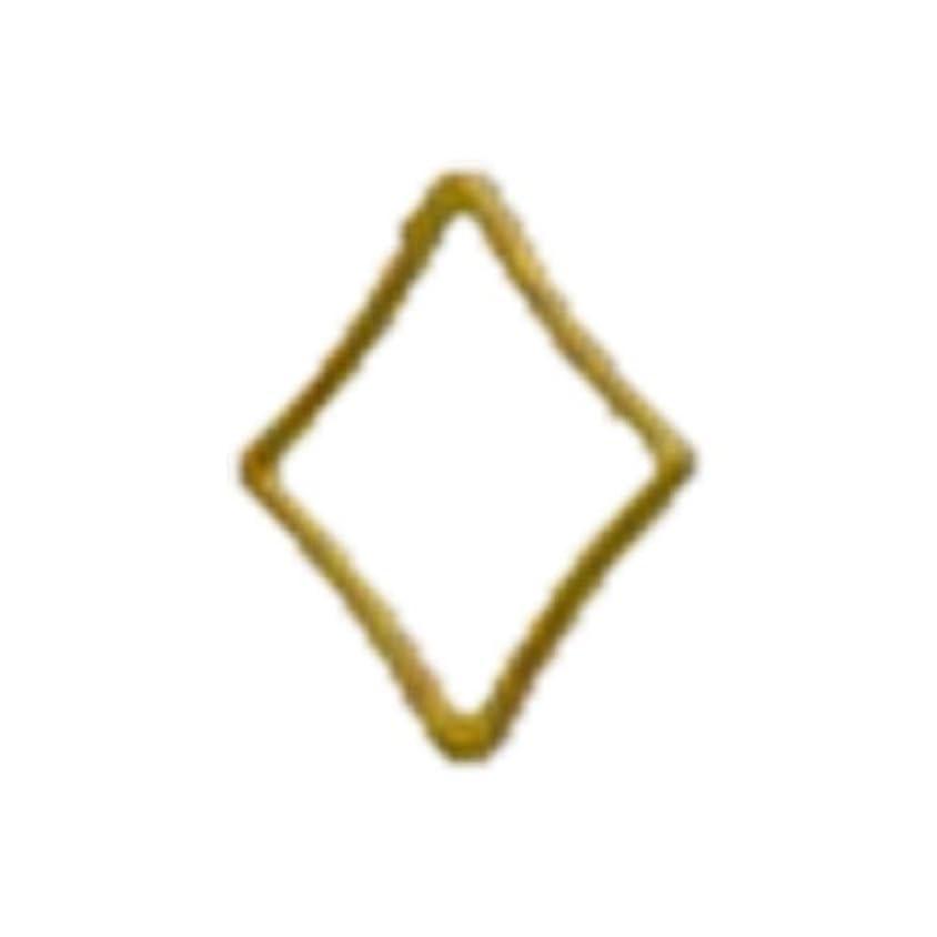 祝福する虫弱まるリトルプリティー ネイルアートパーツ キラキラ 3S ゴールド 20個