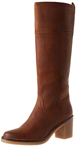 Kickers Damen Averno Mode-Stiefel, Orange Kamel, 40 EU