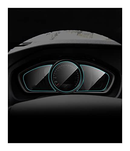 XMSM Coche Navegación Película Protectora para Volvo V40 2013 2014 2015 2016 2017 2018 2019 Película Protectora Salpicadero Interior Coche Membrana TPU Salpicadero Protector Pantalla