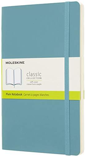 Moleskine - Cuaderno Clásico con Páginas Lisas, Tapa Blanda y Goma Elástica,...
