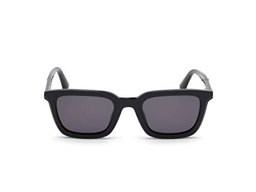Diesel DL0282-01A-51 - Gafas de sol para hombre, color negro brillante
