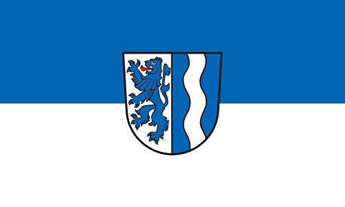 Unbekannt magFlags Tisch-Fahne/Tisch-Flagge: Wutach 15x25cm inkl. Tisch-Ständer