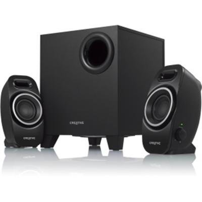 Creative A250 2.1 Speaker System - Black Prod. Type: Speakers/2.1 & Up Systems