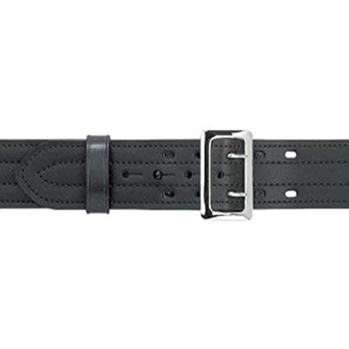 Safariland 87 Duty Belt Plain Black, Chrome Buckle, Size 40