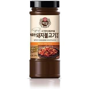 Beksul Pork Bulgogi Marinade (korean Bbq Sauce) 290g x 2 Bottles