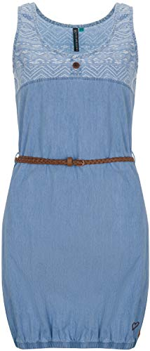 alife and Kickin DOJA Dress L, Light Denim