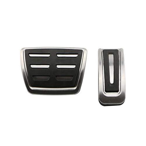 TMAAORS Pedal de acelerador de acero inoxidable, accesorios de coche, pedal de freno, pedal de coche, para VW Golf 3 4 Polo 9N3 SKODA Octavia Fabia Seat Ibiza Audi TT Pedale A1 A2 A3 GTI