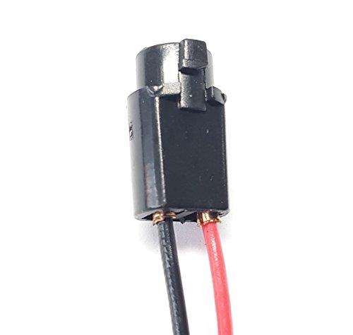 2x T5 W1.2W LAMPEN FASSUNG GLAS STECK SOCKEL STECKER STANDLICHT KUNSTSTOFF TACHO